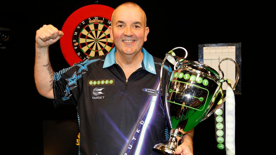 Phil Taylor number 1